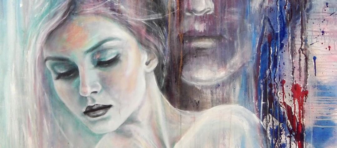 Acrylmalerei, Acryl, moderne Kunst, moderne Malerei, abstrakte Kunst,  Acryl auf Leinwand